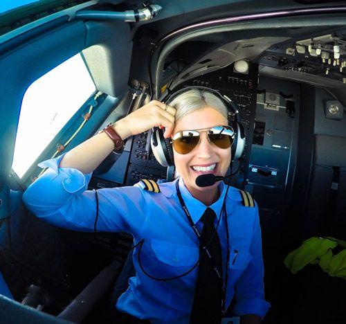 دختر اینستاگرام ملکه سلفی های هوایی در جهان