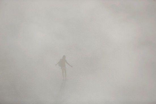 فستیوال عظیم مرد سوزان در نوادا +عکس