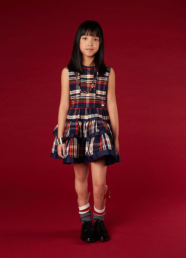 کلکسیون مدل لباس بچه گانه دخترانه پاییز برند Dsquared
