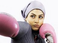 عکس اولین دختر بوکسور ایران و دیدن فیلم هندی