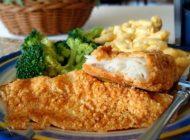 بدون روغن ماهی سوخاری درست کنید