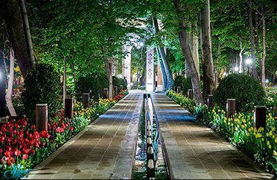 باغ ده ونک زیبا در قلب تهران