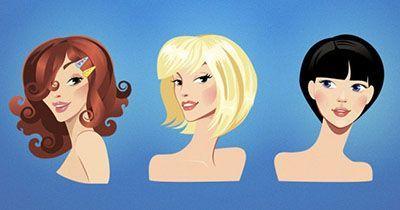 انتخاب مدل مو طبق فرم صورت های مختلف خانم ها