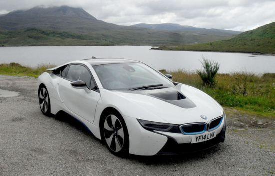 عکس های خودرو BMW I8 از نسل آینده
