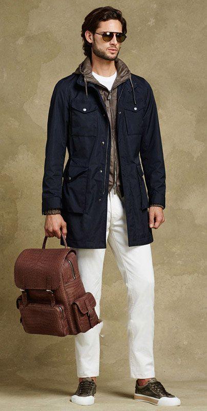 مدل لباس مردانه پاییزی از برند Tods