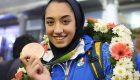 کیمیا علیزاده با جوایزش به کودکان کار کمک می کند