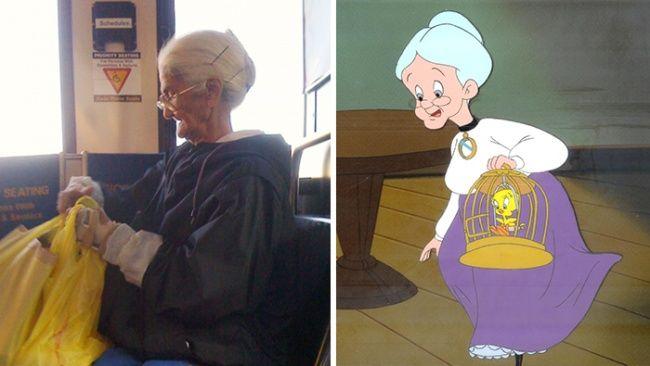 عکسهای عجیب از ورژن واقعی شخصیت های کارتونی