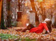 عکس متن عاشقانه با حال و هوای پاییز