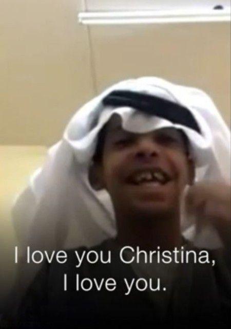 عکس رقص جنجالی پسربچه عربستانی با دختر آمریکایی