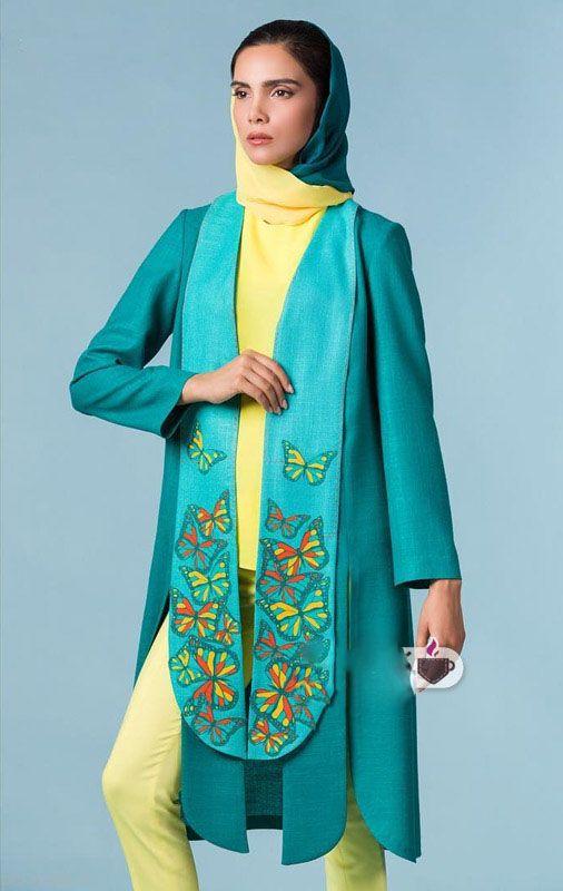 مدل های مانتو ایرانی جدید و زیبا Anna Sani