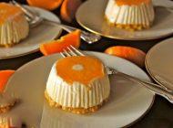 چیز کیک نارنگی خوراکی پاییزی