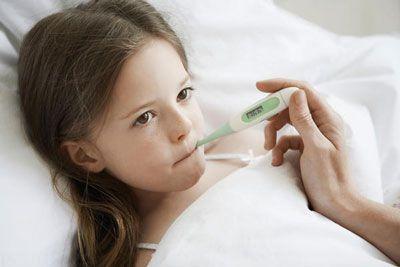 تشخیص بیماری حصبه یا تب روده در کودکان