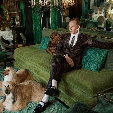 تام هیدلستون را در تبلیغات برند گوچی ببینید
