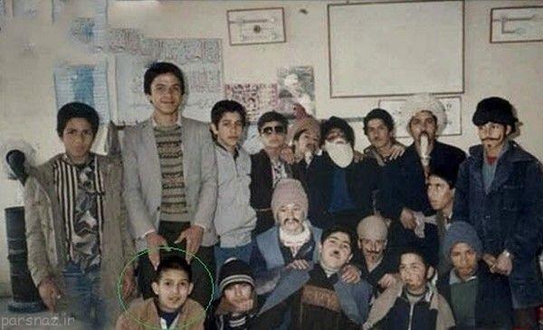 عکس بازیگران مشهور وقتی بچه مدرسه ای بودند