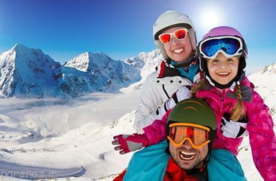 مراقبت از پوست هنگام ورزش اسکی