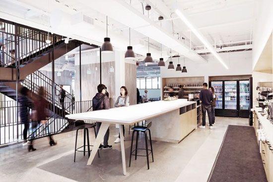 طراحی دکوراسیون فضای داخلی شرکت اینستاگرام