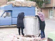 نگاهی به زنان زباله جمع کن در تهران