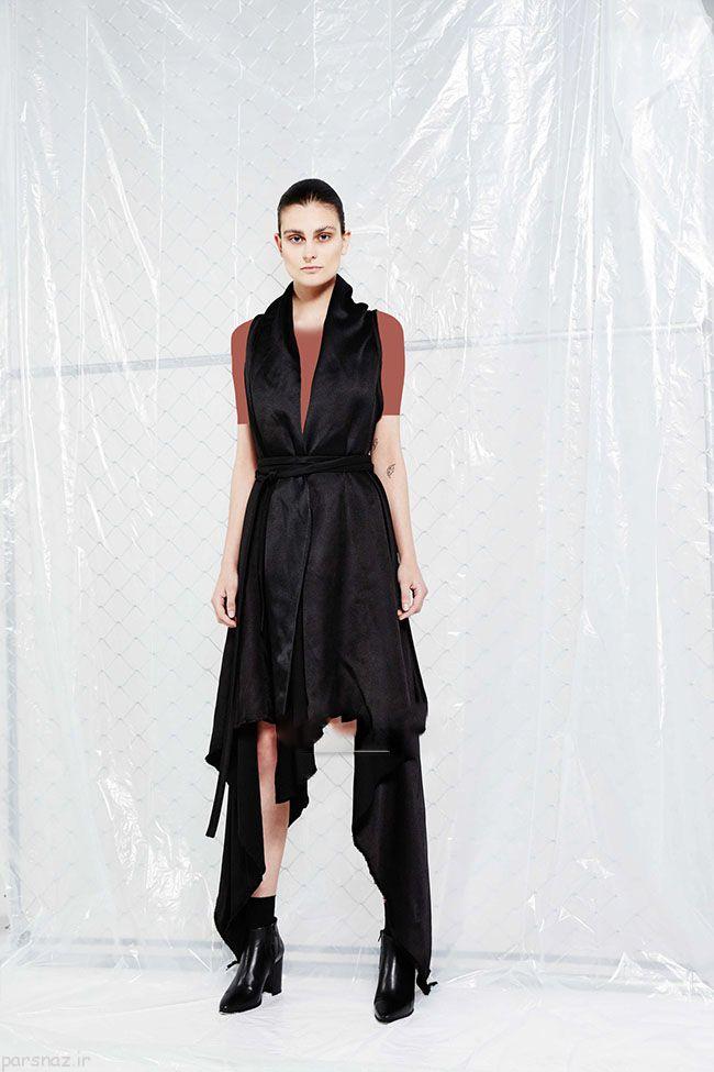 مدل لباس مشکی مجلسی از برند Sid Neigum