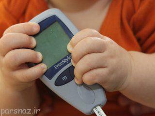 کودکان و بیماری دیابت شیرین