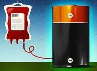 مولکول های خون تبدیل به باتری شدند