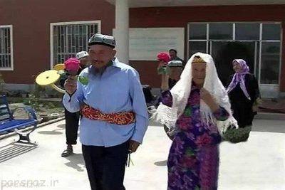 مرد 71 ساله عاشق زن 114 ساله شد