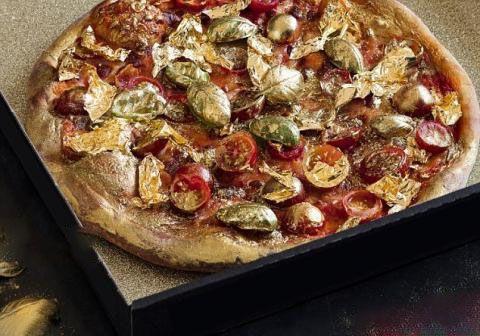 طلای 24 عیار در پیتزای استرالیایی