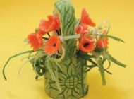 آموزش ساخت گلدان زیبا از کدو