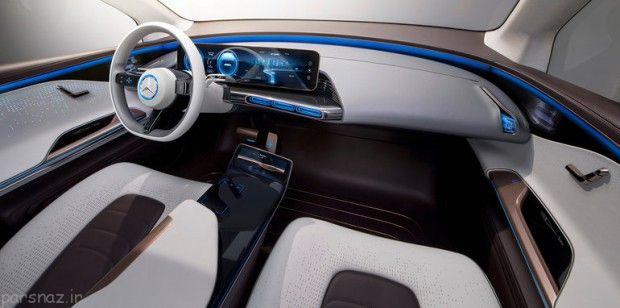 معرفی خودرو بنز Generation EQ الکتریکی