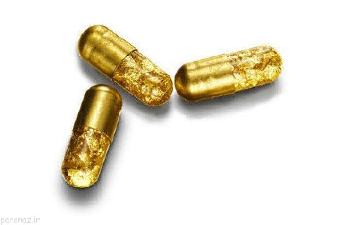 استفاده های عجیب و غریب از طلا