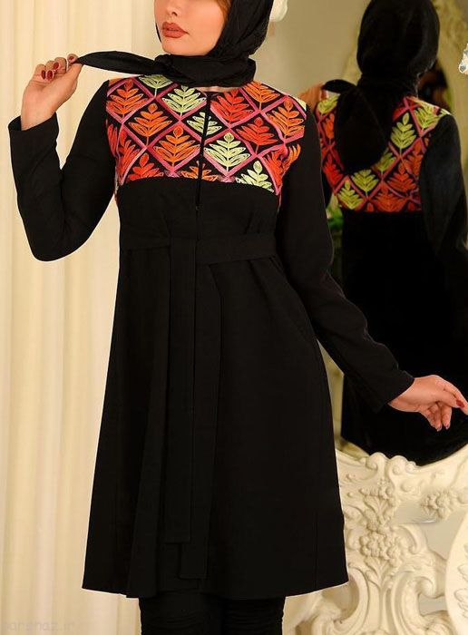 مدل های خاص و زیبای مانتو در Mezon Kaj