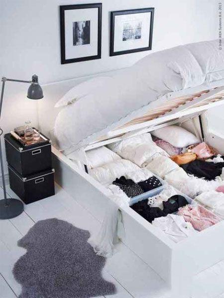 ایده های عالی وقتی اتاق خواب کمد ندارد