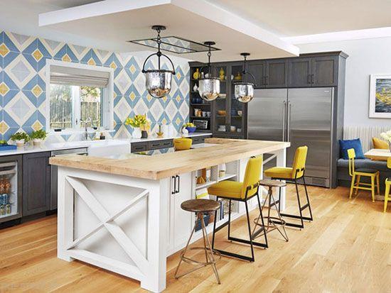 آشپزخانه به عنوان نقطه کانونی دکوراسیون