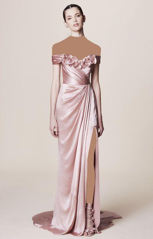 مدل لباس مجلسی جدید از برند Marchesa