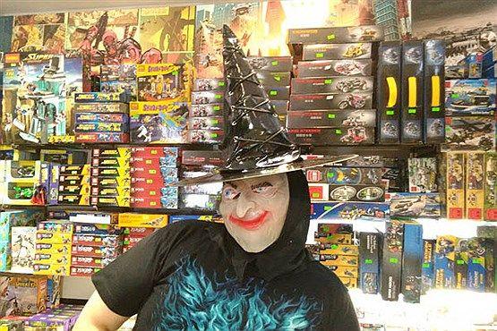 عکس های ترسناک دیدنی هالووین در تهران