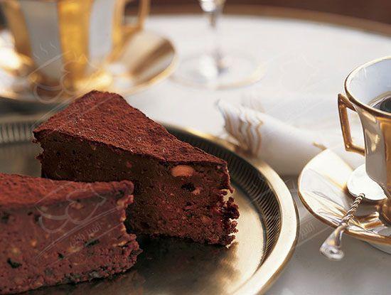 آموزش پخت کیک شکلاتی که آرد ندارد