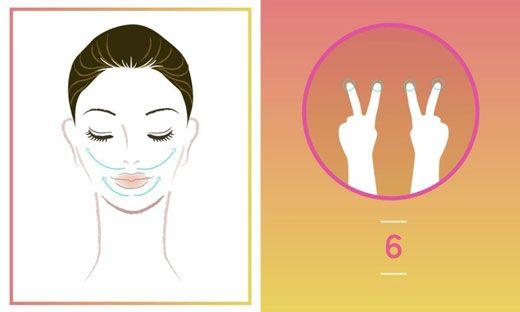 آموزش اصولی ماساژ دادن صورت