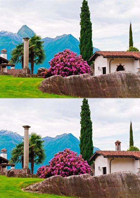 معمای هوش تصویری پیدا کردن تفاوت ها