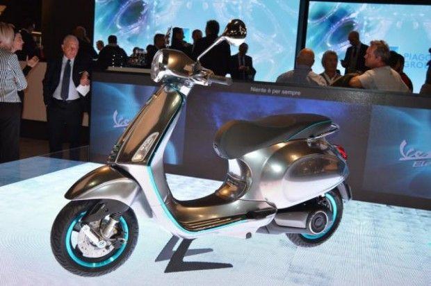 موتور الکتریکی Piaggio با شروع سال 2017