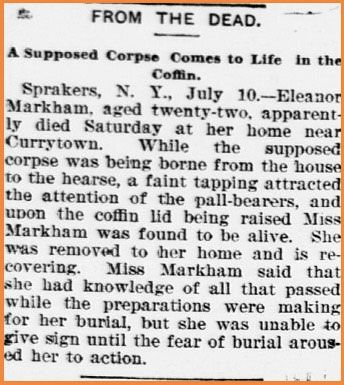 اتفاق وحشتناک زنی که زنده دفن شد