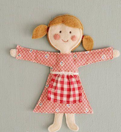 آموزش درست کردن عروسک های دسته ای