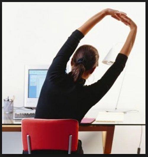 اینگونه در محیط کار ورزش کنید
