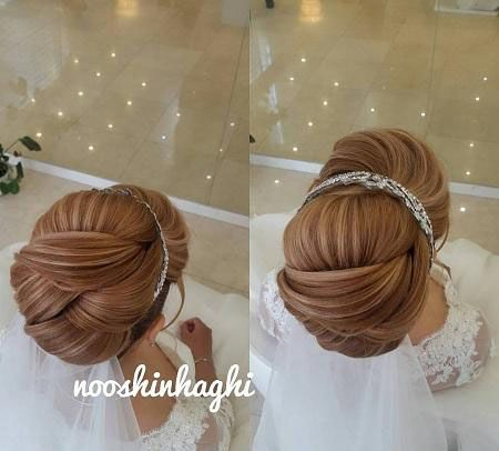 خاص ترین مدل موهای عروس مدل شینیون عروس