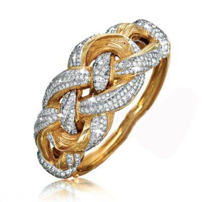 عکس های مدل های طلا و جواهرات برند Verdura