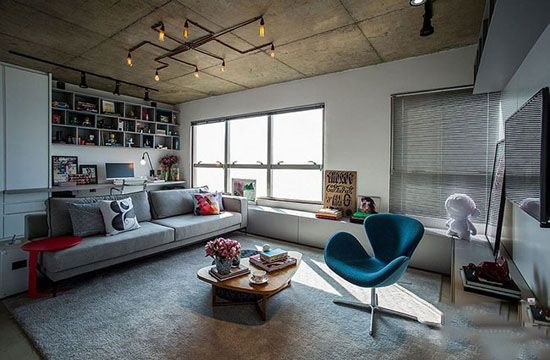 بهترین چیدمان دکوراسیون خانه 70 متری زیبا