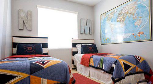 مدل های تختخواب یکسان برای بچه های دوقلو