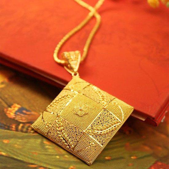مدل طلا و زیورآلات زیبا از برند Manubhai