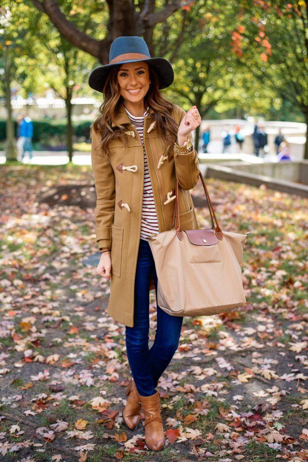 مدل لباس پاییزی به رنگ قهوه ای برای خانم ها