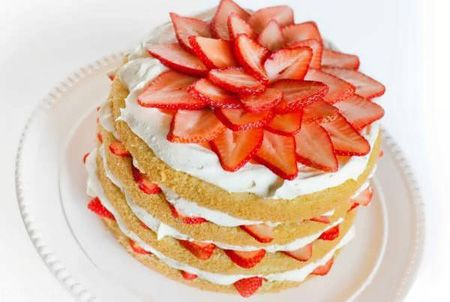 تزیینات عالی و زیبا برای کیک با میوه ها