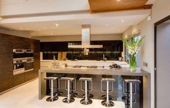 دکوراسیون آشپزخانه را با مدل های بار شیک و زیبا کنید
