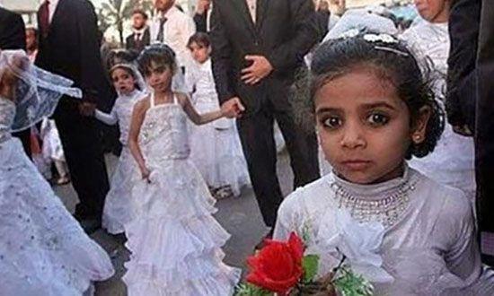 ازدواج دختر 8 ساله و مرگ بخاطر فشار رابطه جنسی